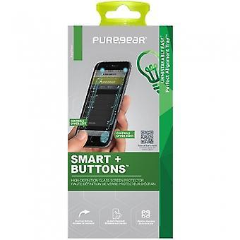 アップルの IPHONE 6/6 S プラス PUREGEAR スクリーン プロテクター - 強化ガラス スマート + ボタン