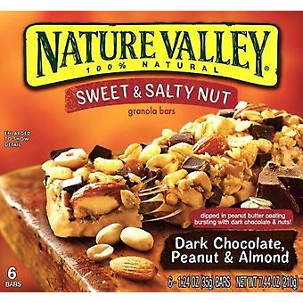 Nature Valley Sweet & Salty Nut Dark Chocolate Peanut & Almond
