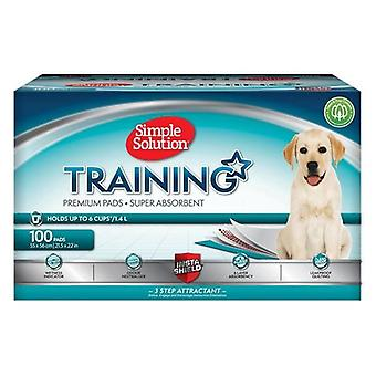 Simple Solution Puppy Training Pads (Pack Of 100)