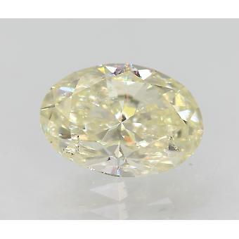 Zertifiziert 1.00 Karat J VS2 Oval Enhanced Natural Loose Diamond 7.69x5.42mm 2VG