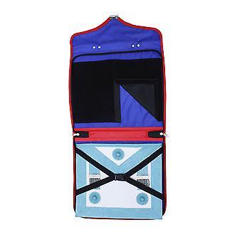 Masonic koninklijke boog mm/wm en provinciale volledige kledingschortgevallen