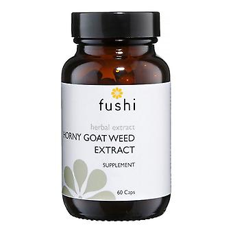 Fushi Wellbeing Horny Goat Weed Extract High Strength Veg Caps 60 (F0021267)