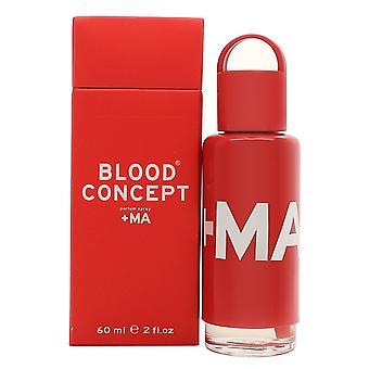 Blood Concept Red +MA Eau de Parfum 60ml EDP Spray