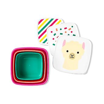 Skip*Hop Zoo Snack Containers (Set of 3) Llama