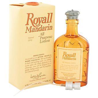 Royall Mandarin All Purpose Lotion / Cologne By Royall Fragrances 4 oz All Purpose Lotion / Cologne