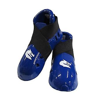 Morgan Dipped Foam Protector Foot Guards Blue