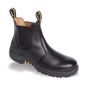 V12 VR609 Colt Black Dealer Boot EN20345:2011-S1P Size 9