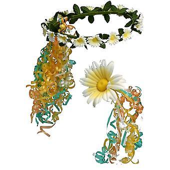 Flower Headband Scepter Set