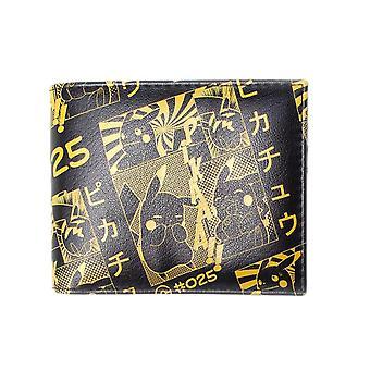 Pokemon Pikachu Manga Print Bi-Fold Wallet