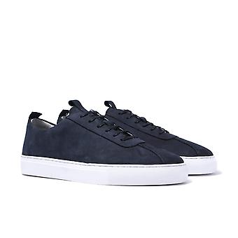 Grenson Sneaker 1 Navy Suede Trainers