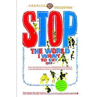 Stop verden, jeg ønsker at få Off [DVD] USA import