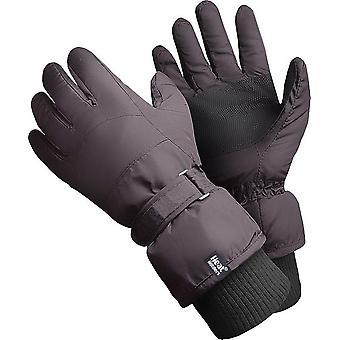 Heat Holders Men's Ski Gloves Black