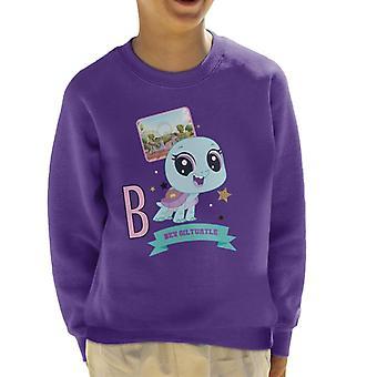 Littlest Pet Shop Bev Gilturtle Kid's Sweatshirt