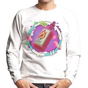 Angry Birds Hot Sauce 3D Badge Men-apos;s Sweatshirt