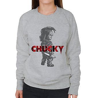 Chucky Looking Backwards Women's Sweatshirt