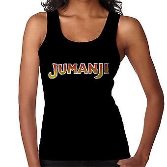 Jumanji 1995 Film Logo Women's Vest