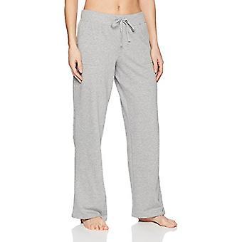 Marka - Mae Women's Loungewear Open Leg Piżama Spodnie, Szary, XL