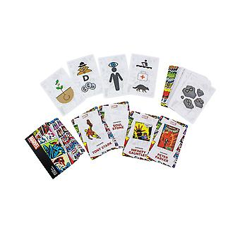 Marvel dire quello che vedi Quick-Fire Card gioco Trivia quiz ufficialmente concesso in licenza