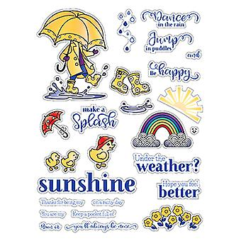 LDRS Creative Puddle Jumper Clear Stamps