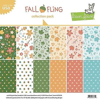 Lawn Fawn Fall Fling 12x12 Inch Collection Pack