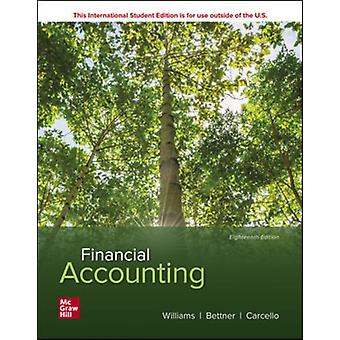 ISE Financial Accounting by Williams & JanBettner & MarkCarcello & Joseph