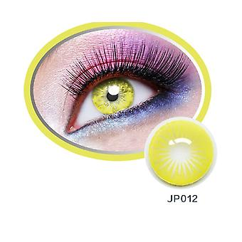 1 Pair2pcs Radiation Halloween Contacts Crazy Contact Lens For Cosplay Cosmetic Contacts Lenses