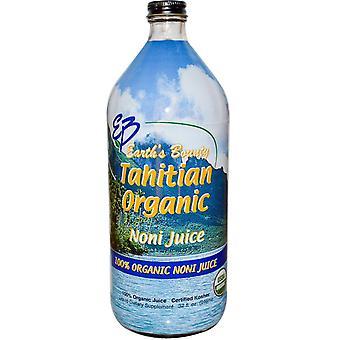 Earth's Bounty, Tahitian Organic Noni Juice, 32 fl oz (946 ml)