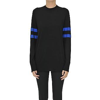 Alexander Wang Ezgl029007 Women's Black Wool Sweater