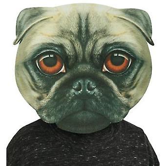 BigSize Mask Pug ca. 34x35 cm