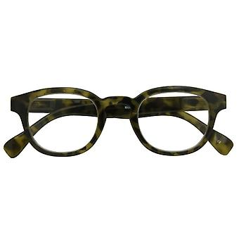 Reading Glasses Unisex Montel Camouflage Green Strength +1.00