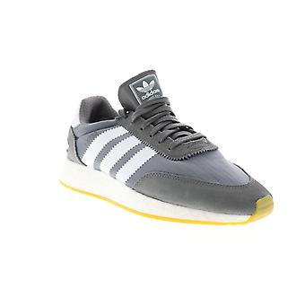 Adidas I-5923  Mens Gray Canvas Lace Up Lifestyle Sneakers Shoes
