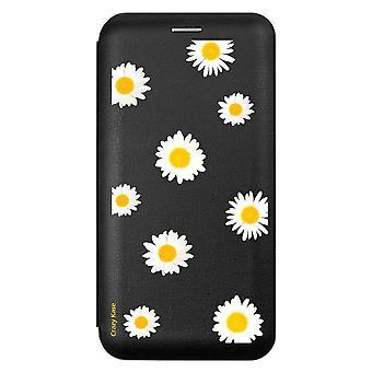 Sui Für Samsung Galaxy Note 10 Schwarz Marguerite Muster