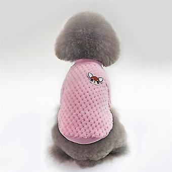 Dog Hoodie Pet Dog Winter Clothes For Dogs -płaszcz Kurtka z bawełny