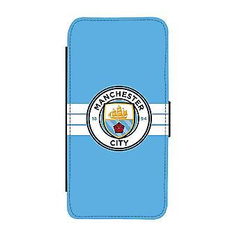 Manchester City 2016 Logo iPhone 6/6S Pénztárca tok