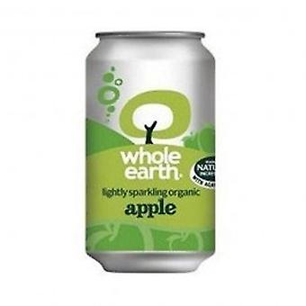 Whole Earth - Org Light Sparkling Apple 330ml