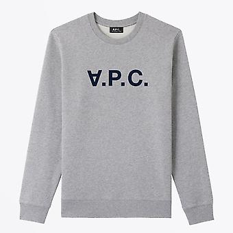 A.P.C.  - VPC Brushed Cotton Sweater - Grey