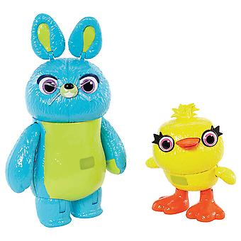 """Toy Story 4 7"""" Furry & Feathers Interactive 2 Pack"""