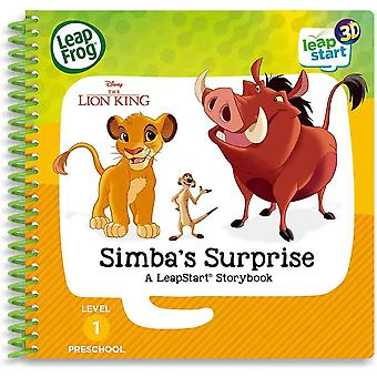 Leapfrog lion king storybook 30 replayable activities with a LeapStart system