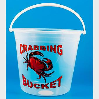 New Bluezone Giant Crab Bucket Clear