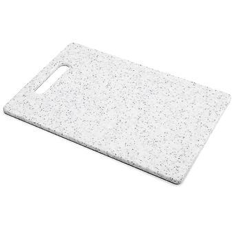 Taylors Eye Witness Cutting Board White Granite Effect Medium SY802W
