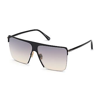 Tom Ford Sofi TF840 01C Shiny Black/Smoke Mirror Sunglasses