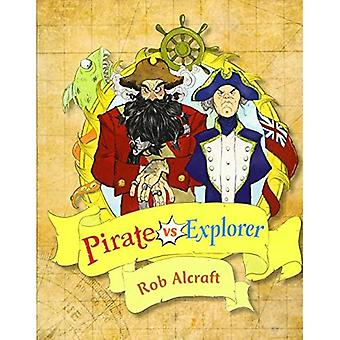 Reading Planet KS2 - Pirate vs Explorer - Nível 1: Banda Stars/Lime (Rising Stars Reading Planet)