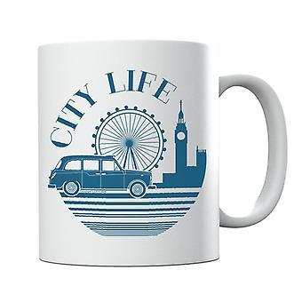 London Taxi Company City Life Mug