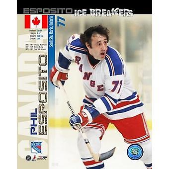 Phil Esposito - Ice Breakers sammensatte Sports foto