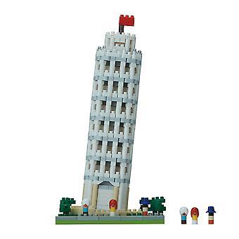 Nanoblock - turnul înclinat din Pisa