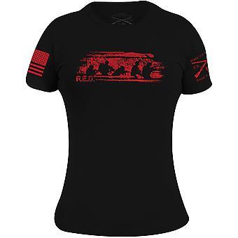 Grunt Style Women's R.E.D. Friday T-Shirt - Zwart