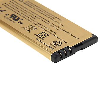 BL-5T 2680mAh High Capacity Gold Rechargeable Li-Polymer Battery for Nokia Lumia 820 (Gold)