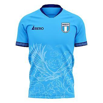 לאציו 2020-2021 ערכת כדורגל קונספט ביתי (Libero)
