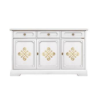 Sideboard 3 portes et 3 tiroirs 'You Gold';