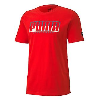 Puma Athletics Tee Big Logo 58133311 universal ympäri vuoden miesten t-paita